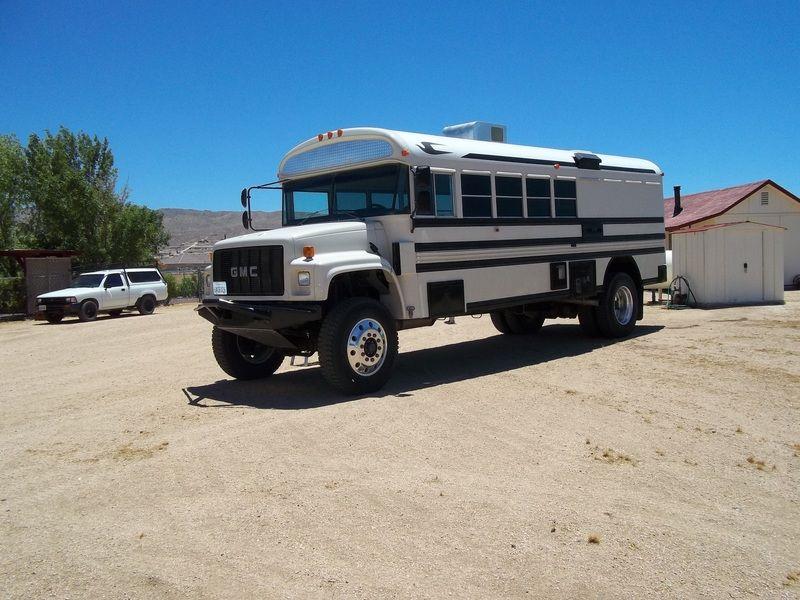 4x4 bus for conversion. | BUS CONVERSIONS, CAMPERS, etc. | Pinterest