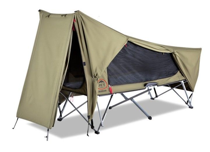 oz tent - jet tent bunker swag and camp bed all in one | tents and