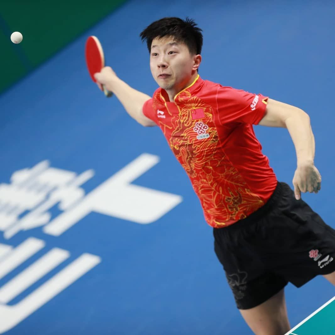 Does Ma Long Have The Best Forehand Of All Time Dhs Tabletennis Malong Ma Long Tennis Videos Table Tennis