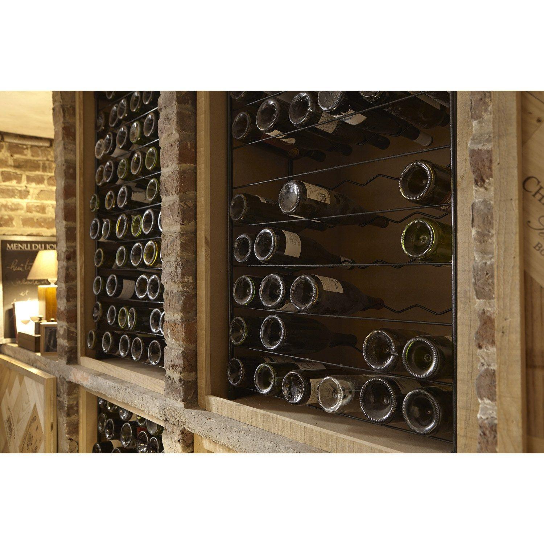Casier 60 Emplacements Acier Plastifie Wine Cellar Wine Rack Cellar