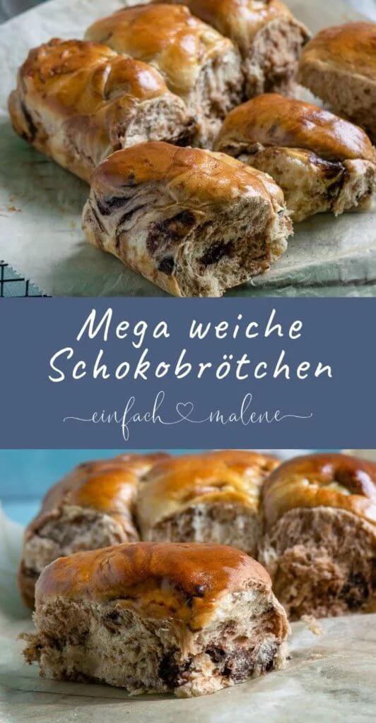 Echte Softies – super leckere weiche Schokoladen Brötchen – Brot