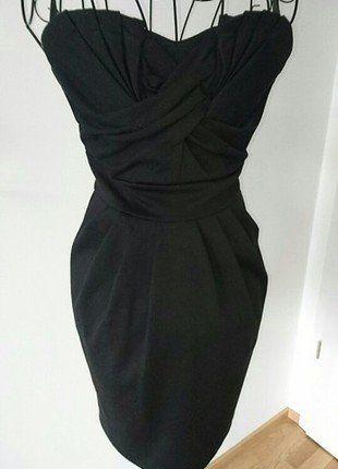 Kaufe meinen Artikel bei #Kleiderkreisel http://www.kleiderkreisel.de/damenmode/kurze-kleider/147442842-schulterfreies-kleid-das-kleinekurze-schwarze