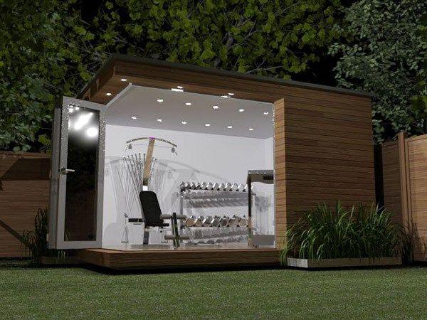 Designing a home gym garage houzz and