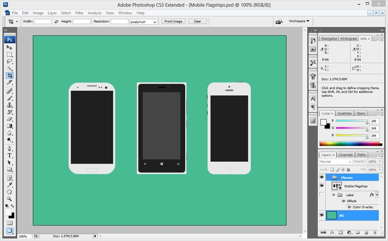 How to create photorealistic screenshots of your mobile
