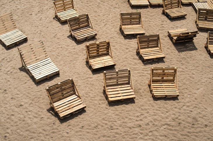 21 idées de bancs et chaises en palette (bois): le mobilier