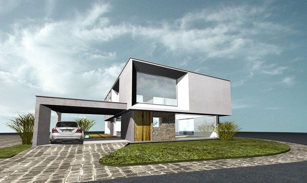 Casa las dunas d1 1 architecture casas fachadas - Casa las dunas ...