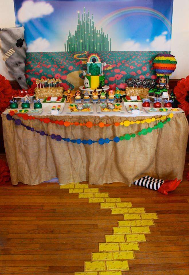 Wizard Of Oz Baby Shower Party Ideas Baby Shower Parties Shower