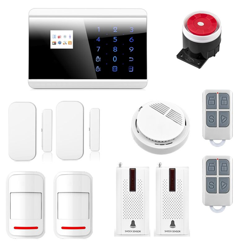 Pleasing Newest Alarm Mainframe Kits Wireless Gsm Pstn Home House Home Interior And Landscaping Synyenasavecom
