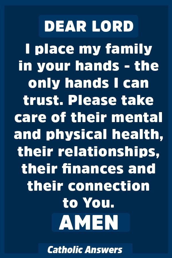 Powerful Prayer for the Protection of Your Family