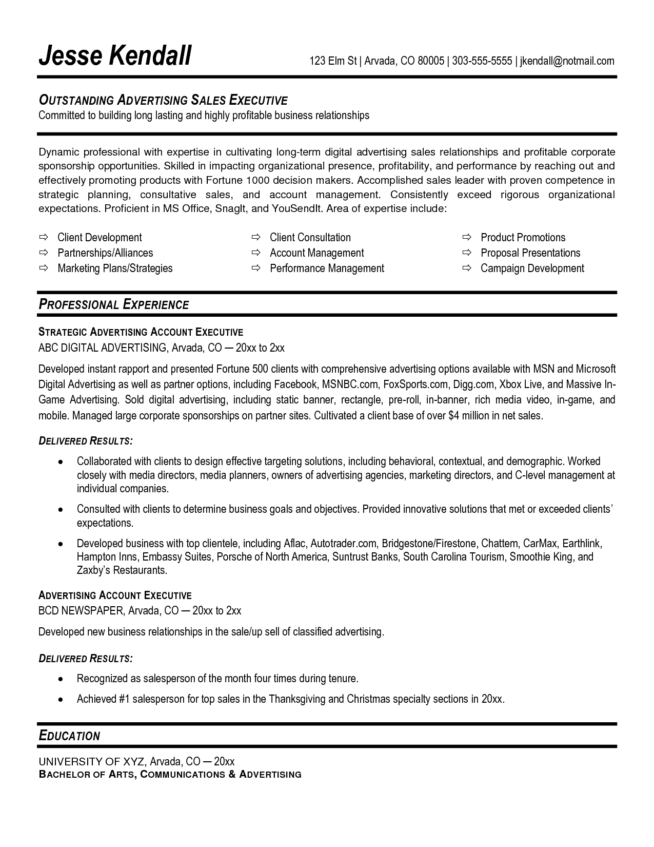 Bank Sales Executive Resume Excellent Resume Account Management Google Search Job