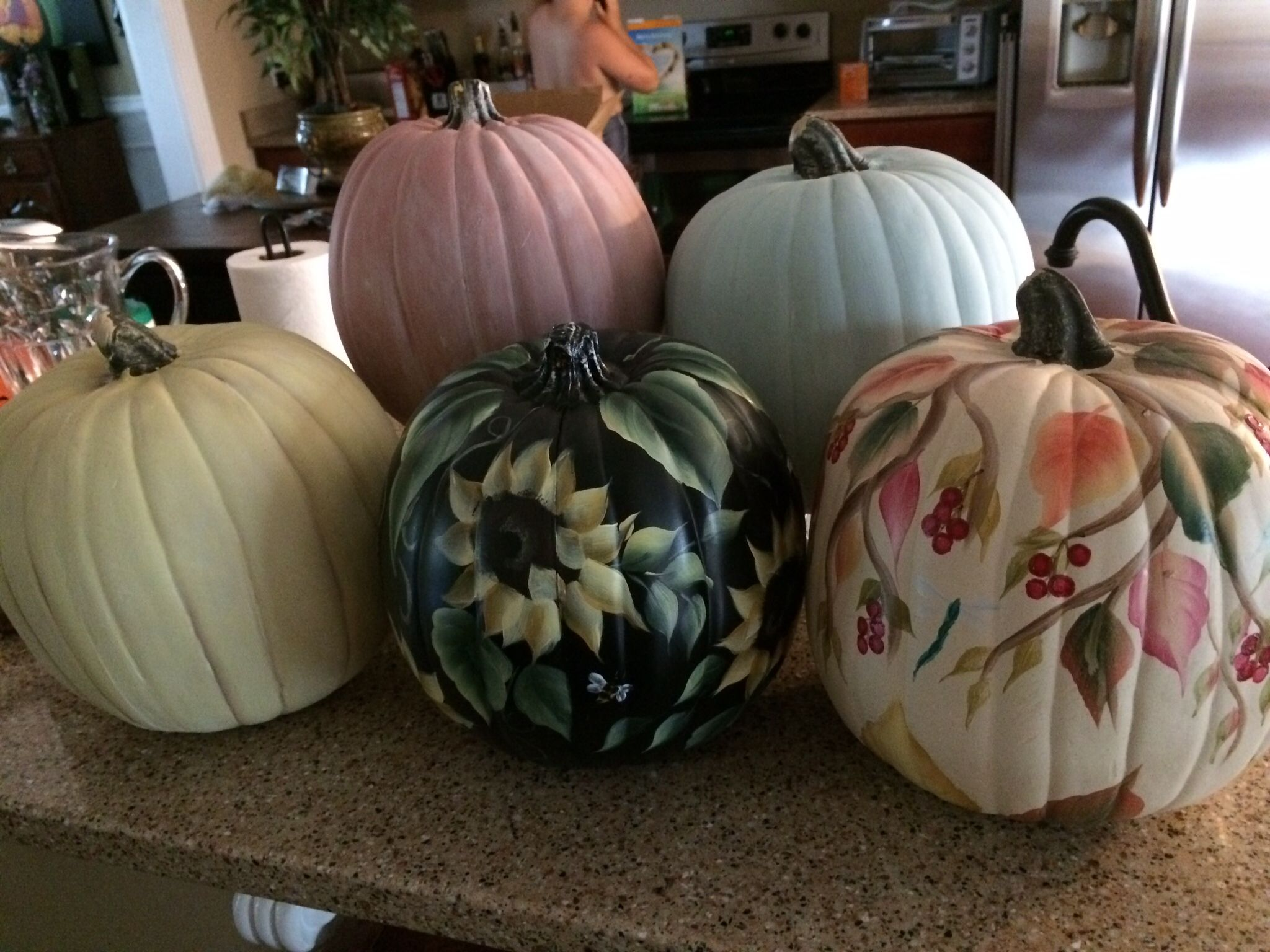 Starting on the Fall Pumpkin Patch