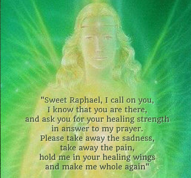 St raphael prayer for healing