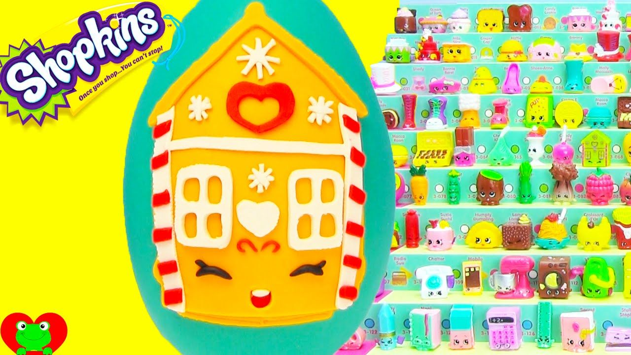 Shopkins Season 3 Ginger Fred Play Doh Surprise Egg And Limited Edition