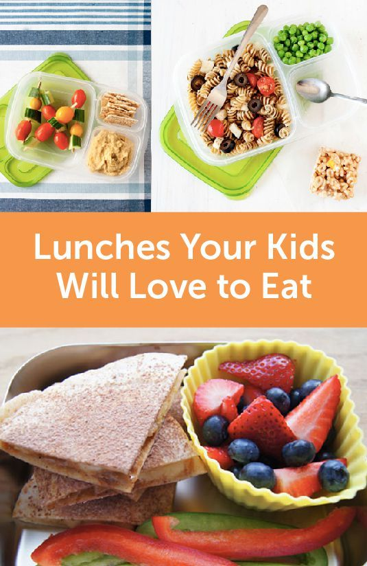 Get inspired for your next lunchbox creation with this collection of Lunches Your Kids Will Love to Eat, complete with ideas for adding fruits and veggies to their meal.