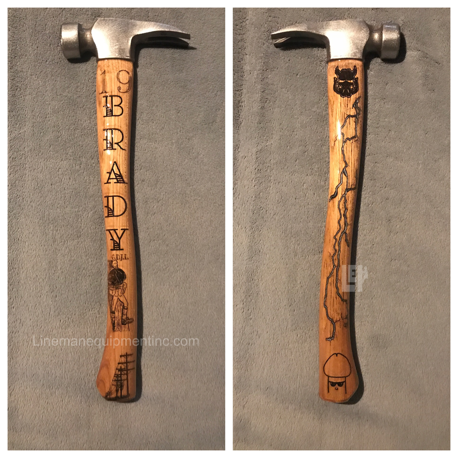 Just Some Of The Custom Hammer Handles We Have Made For Our Customers If You Dream It We Can Make It Madeinamerica Lig Hammer Handles Hammer Framing Hammer