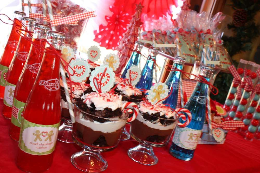Gingerbread House Party Christmas/Holiday Party Ideas | Photo 12 of 41 | Catch My Party