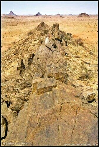 Wad Albahar Mountains From The Top Al Fasher Northern Darfur جبال ود البحر من القمة الفاشر شمال دارفور Sudan Alfashe Natural Landmarks Photo Landmarks