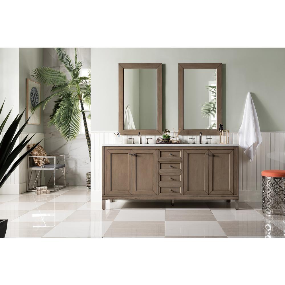 James Martin Vanities Chicago 72 In W Double Bath Vanity Cabinet