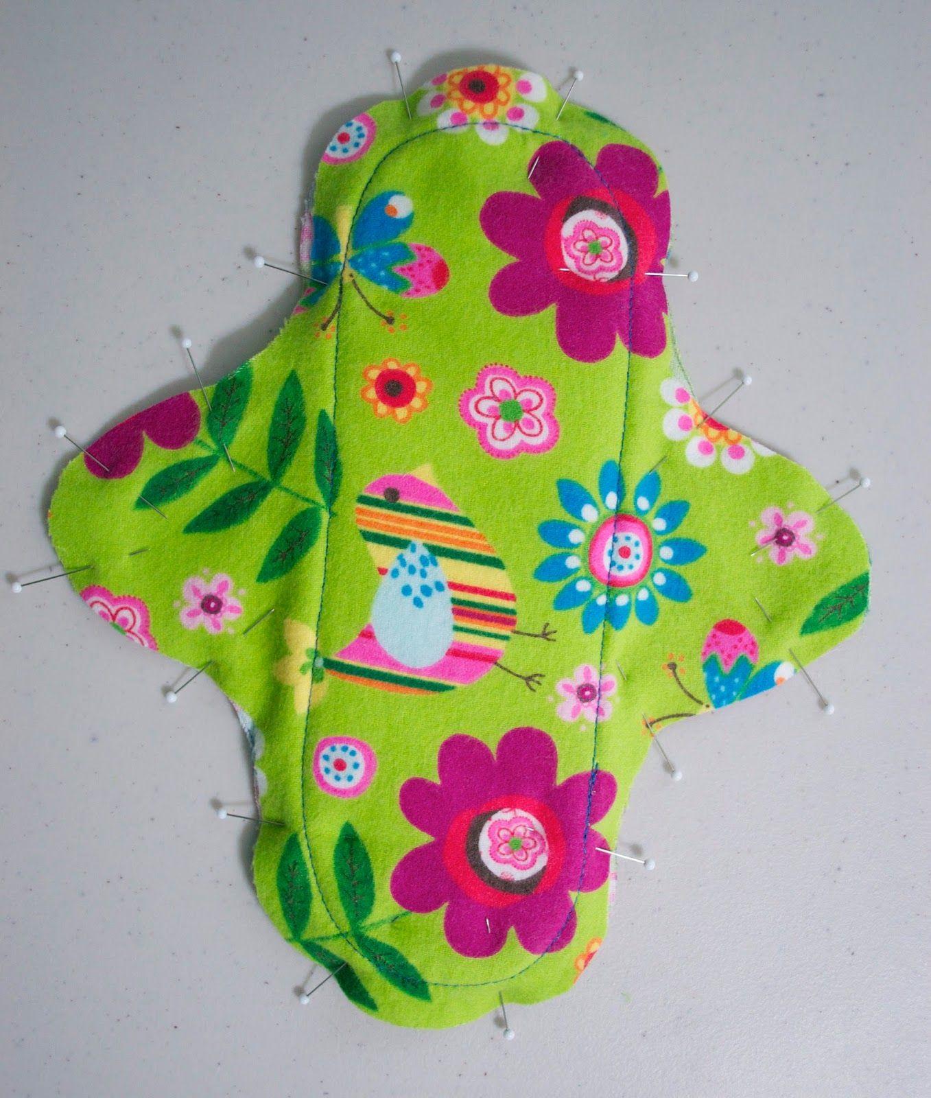 Diy Cloth Pads Tutorial: Sew In Peace: Feminine Cloth Pad Tutorial Interesting