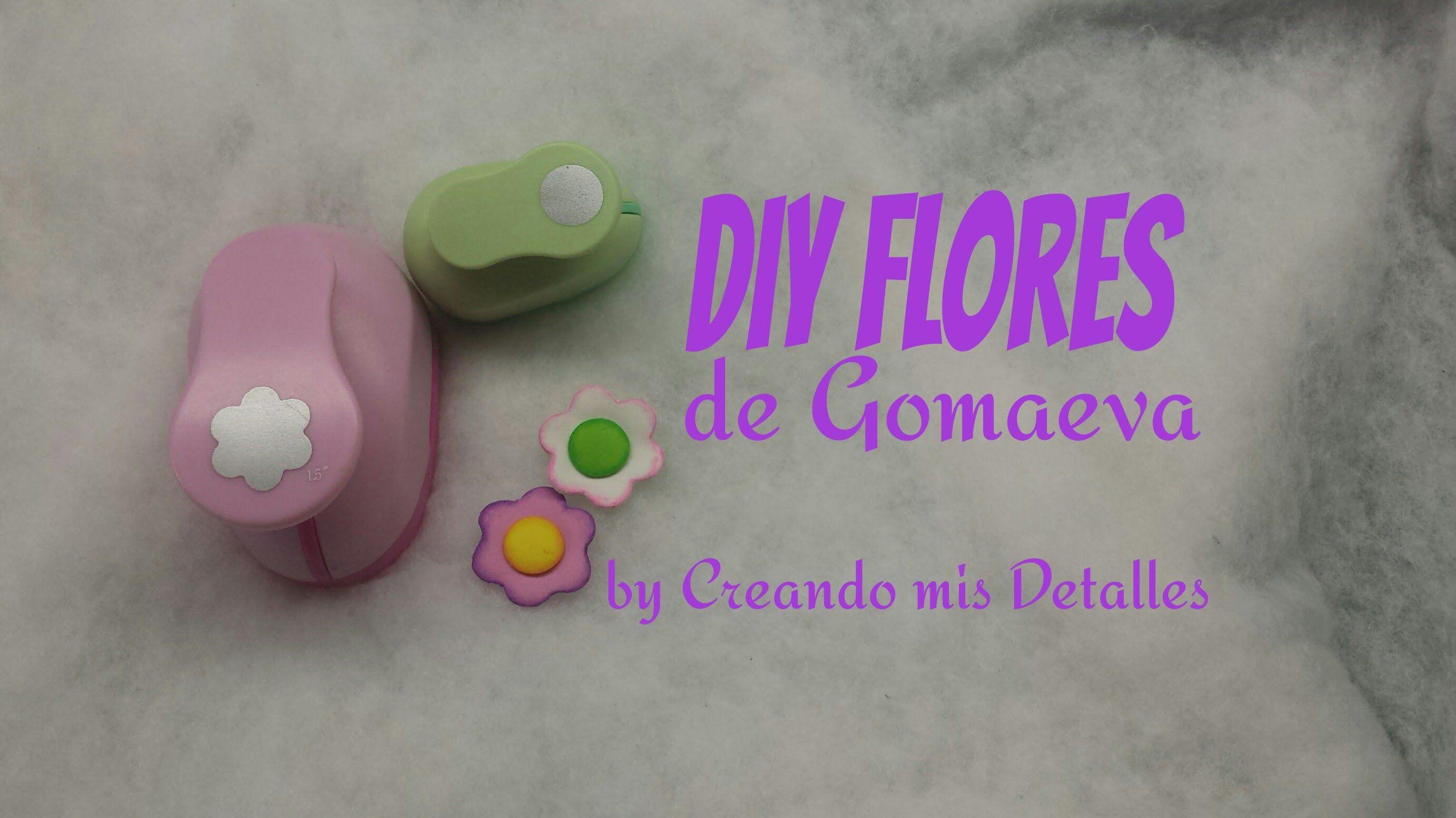 Flores Sencillas De Goma Eva Elegant Madera Con Goma Eva Cmo Hacer
