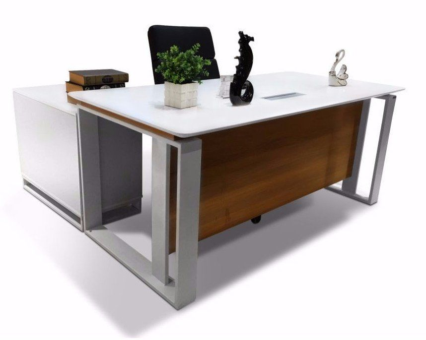 Amazing Brandon Modern Executive Desk U2013 Dunn Furniture