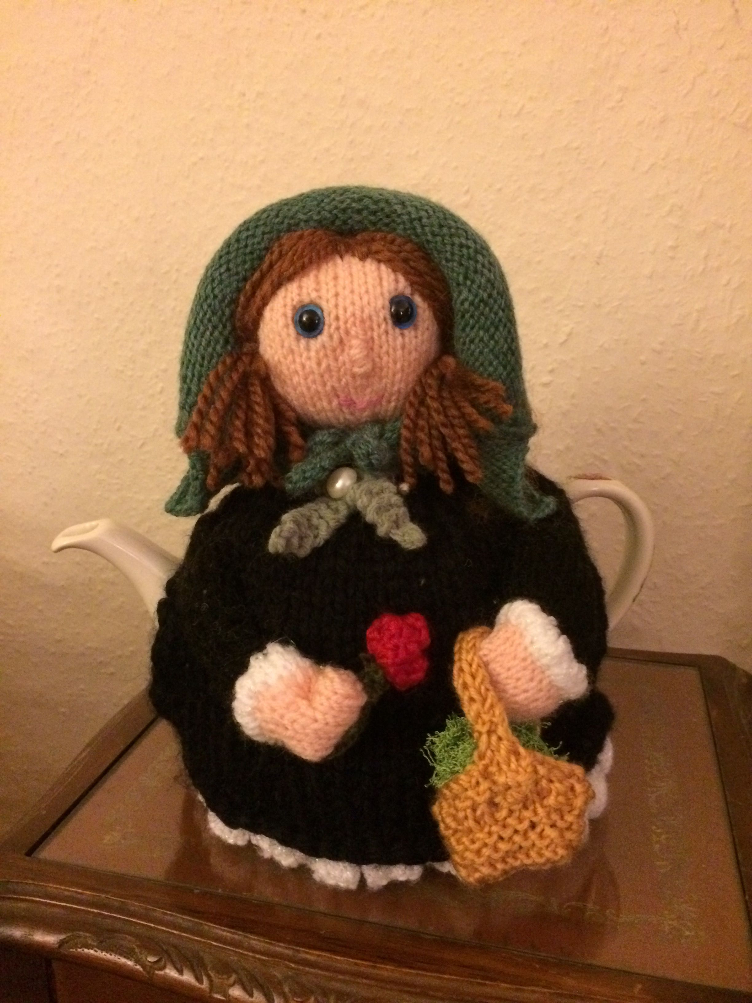 Cobo Alice (Guernsey doll) tea cosy | My Tea Cosies | Pinterest ...