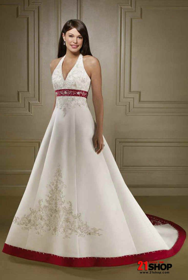 Princess Halter Top Wedding Dresses