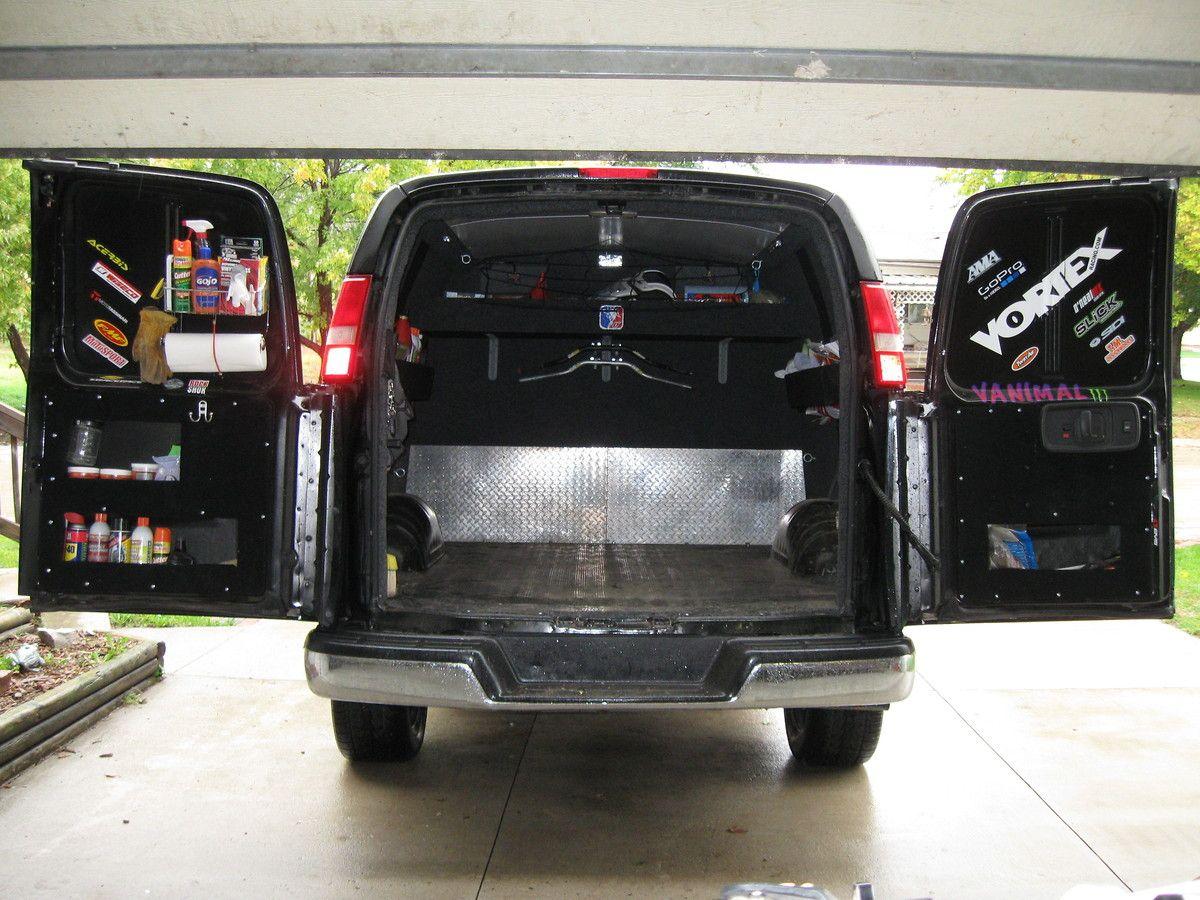 Sprinter Storage Chevy Express Van Storage Truck Camper
