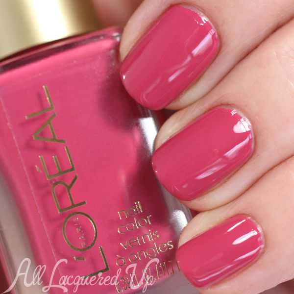 l oreal spring 2015 nail polish collection haute florals swatch