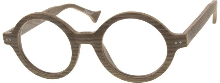 29a1f43cddf5 Order online, unisex wood texture full rim acetate round eyeglass frames  model #300532. Visit Zenni Optical today to browse our collection of glasses  and ...
