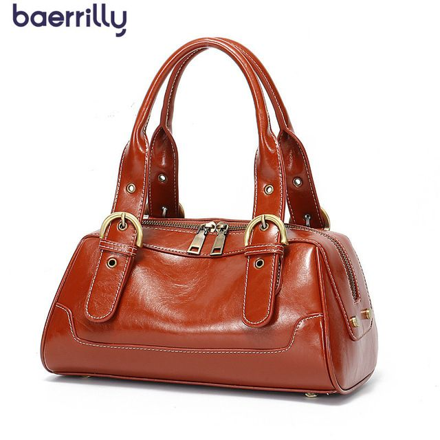 94be0c77ac2c Causal Woman Handbag Genuine Leather Luxury Brand Handbags Female Large  Totes Messenger Bags Big Bags For Girls Bolsa Feminina Review