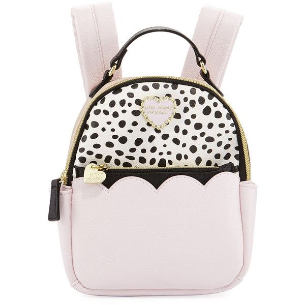 Betsey Johnson Colorblock Zip-Around Mini Backpack ( 38) ❤ liked on Polyvore  featuring 861d5b7f69c3b