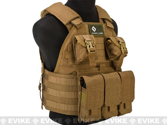 Emerson Compact High Speed Plate Carrier - (Coyote Brown ...