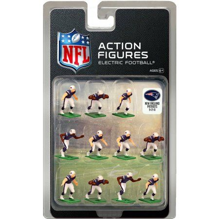 New England Patriots Dark Uniform NFL Action Figure Set e498218871a70
