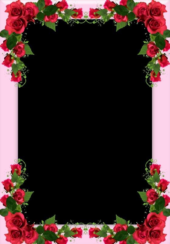 cadres,frame,rahmen,quadro,png Flower border clipart