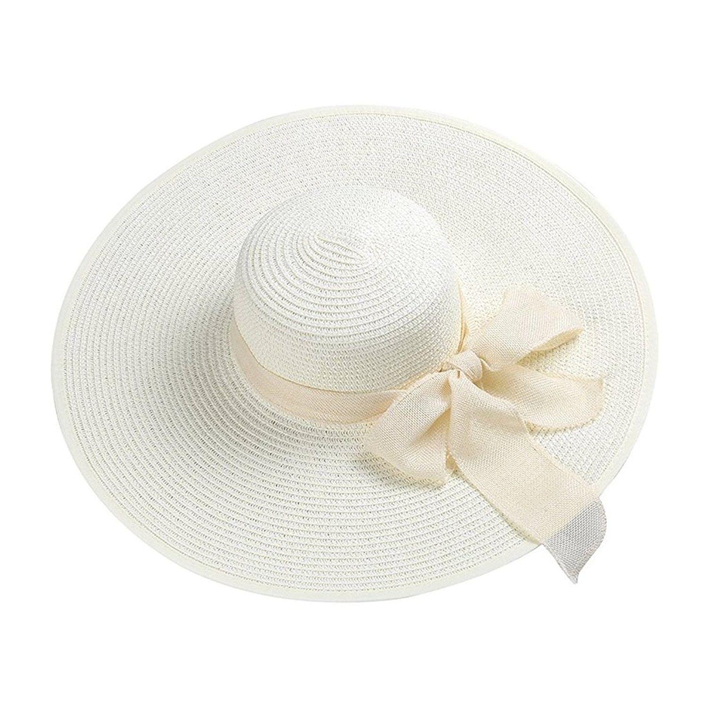 aebbc5de8f497 Womens 2in1 Summer Wide Brim Caps Foldable Anti-UV Golf Tennis Sun Visor Cap  Beach