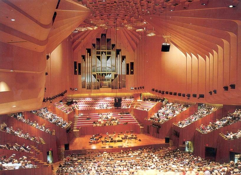 Sydney Opera House Concert Hall. Stunningly gorgeous ...