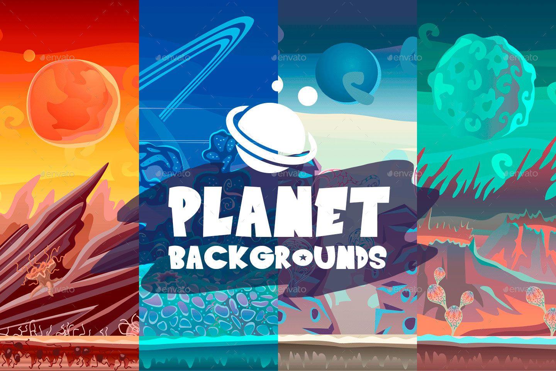 Parallax Backgrounds 2d, action, adventure,