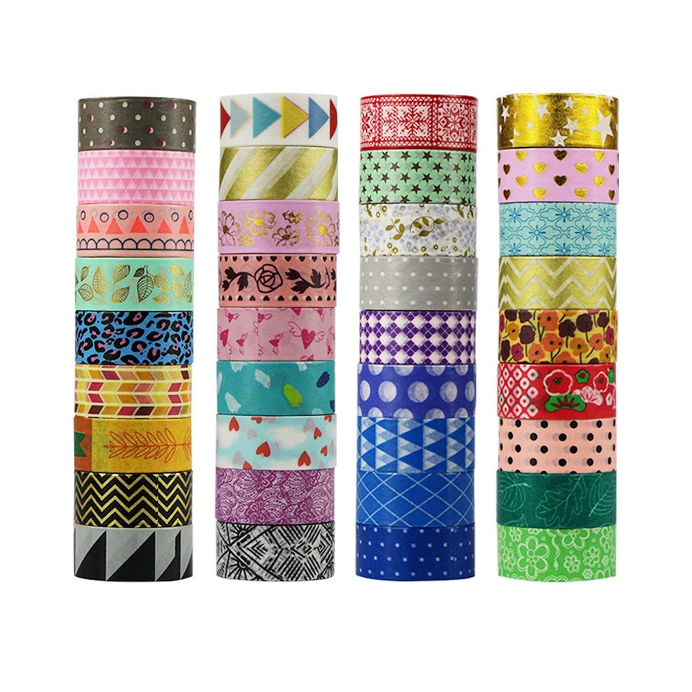 Deko Klebeband Uooom 30er Set Beautiful Washi Tape Masking Tape Deko Klebeband
