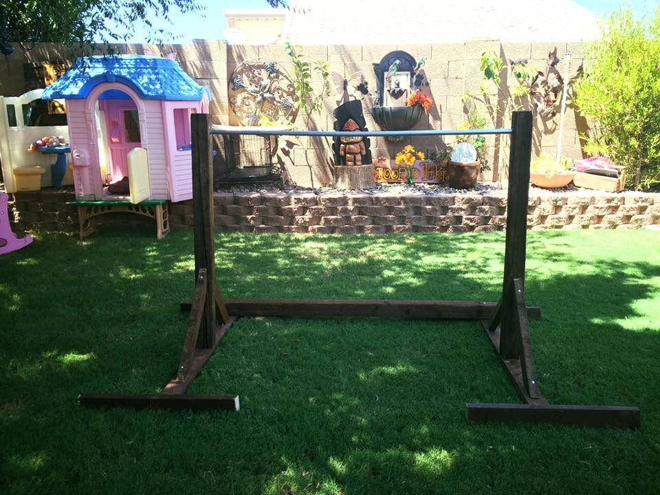 DIY Gymnastics bar I made for my daughters. Diy