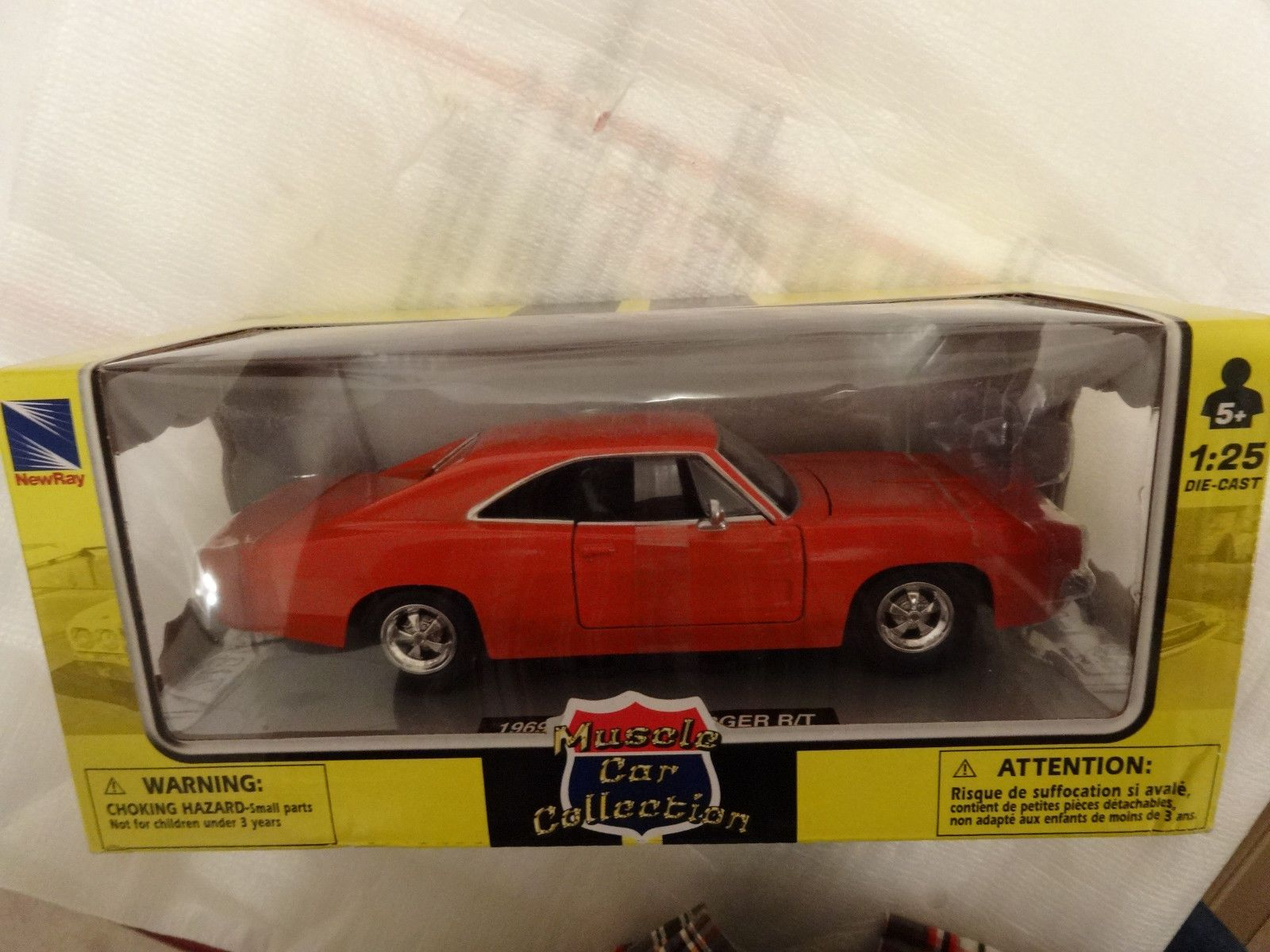nice Great Muscle Car COLLECTION 1969 Dodge Charger R/T 1:25 NEW IN ...