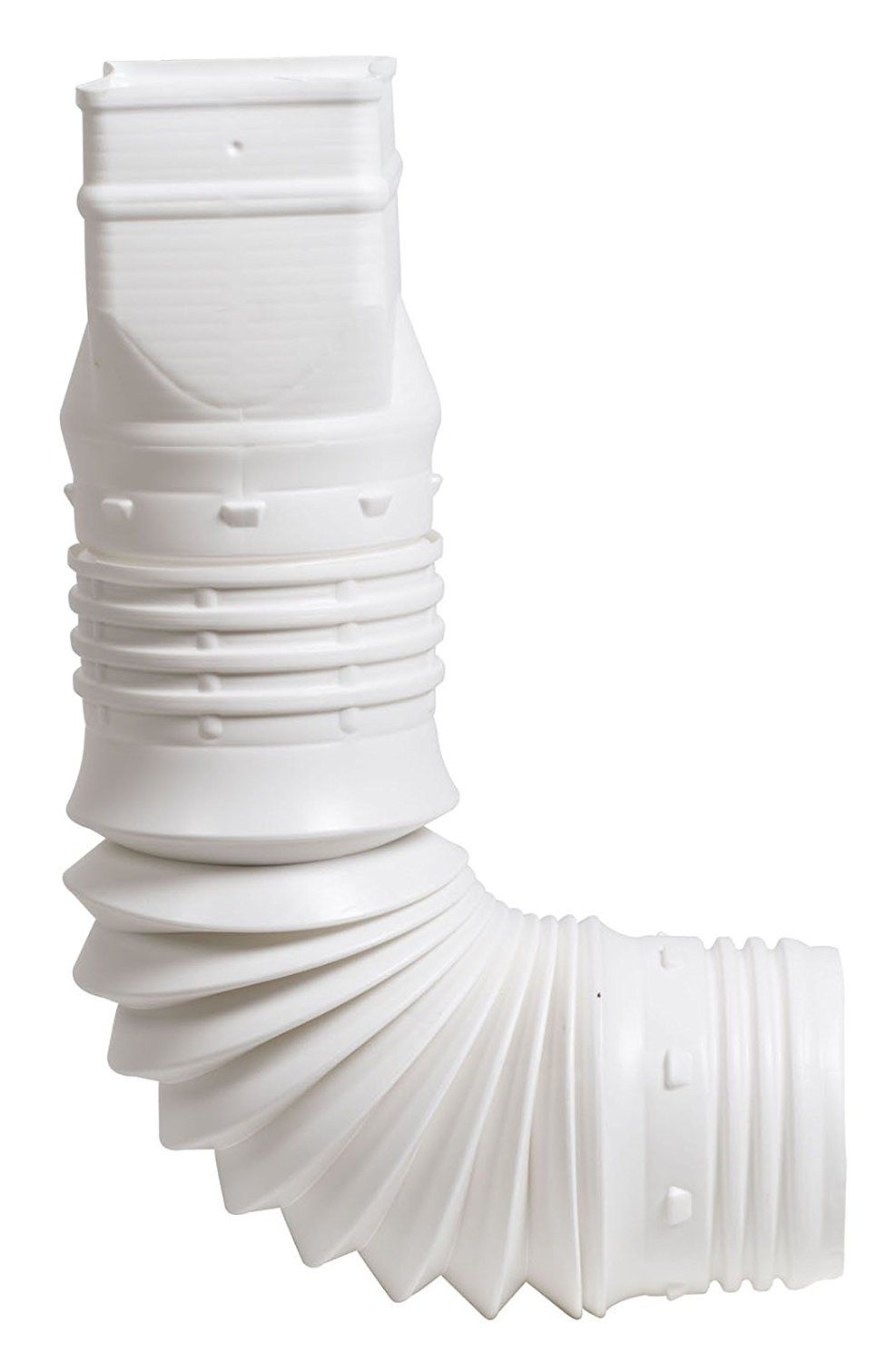 Flex Drain 53127 Flexible Downspout Extension Adapter 3 By 4 By 4 Inch White Visit The Image Link M Downspout Adapter Downspout Gutter Downspout Extension