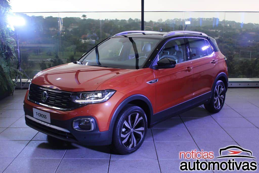 Vw T Cross 2020 Versoes Preco Consumo Equipamento Motor Fotos Volkswagen Carro Mais Vendido Suv