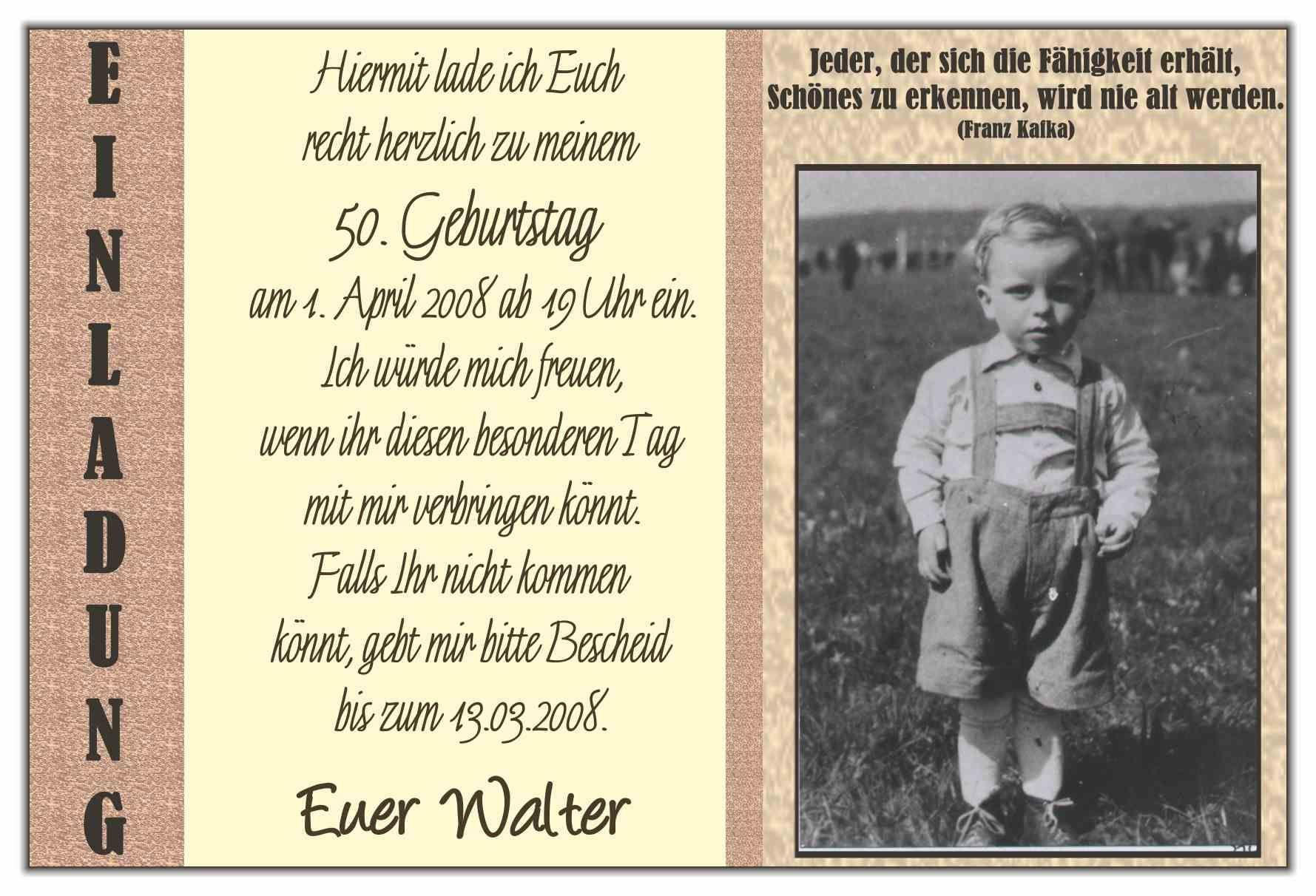 Einladung Zum 50 Geburtstag Lustig Einladungskarten Geburtstag
