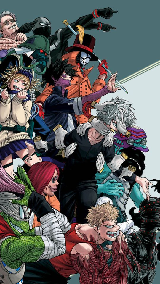 Tons of awesome my hero academia league of villains wallpapers to download for free. Boku no Hero Academia random mobile wallpapers... (avec ...
