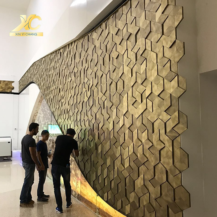 Stainless Steel Wall Decoration 3d Board Textured Decorative 3d Wall Panels Interior 3d Deco Textured Wall Panels Decorative Wall Panels Texture 3d Wall Panels