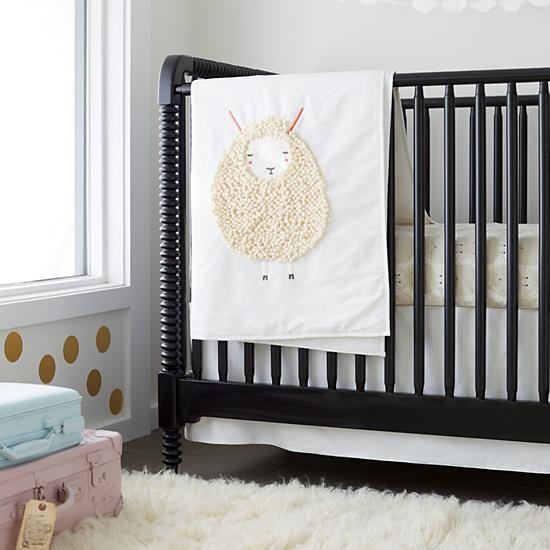 Sheepish Crib Bedding The Land Of Nod