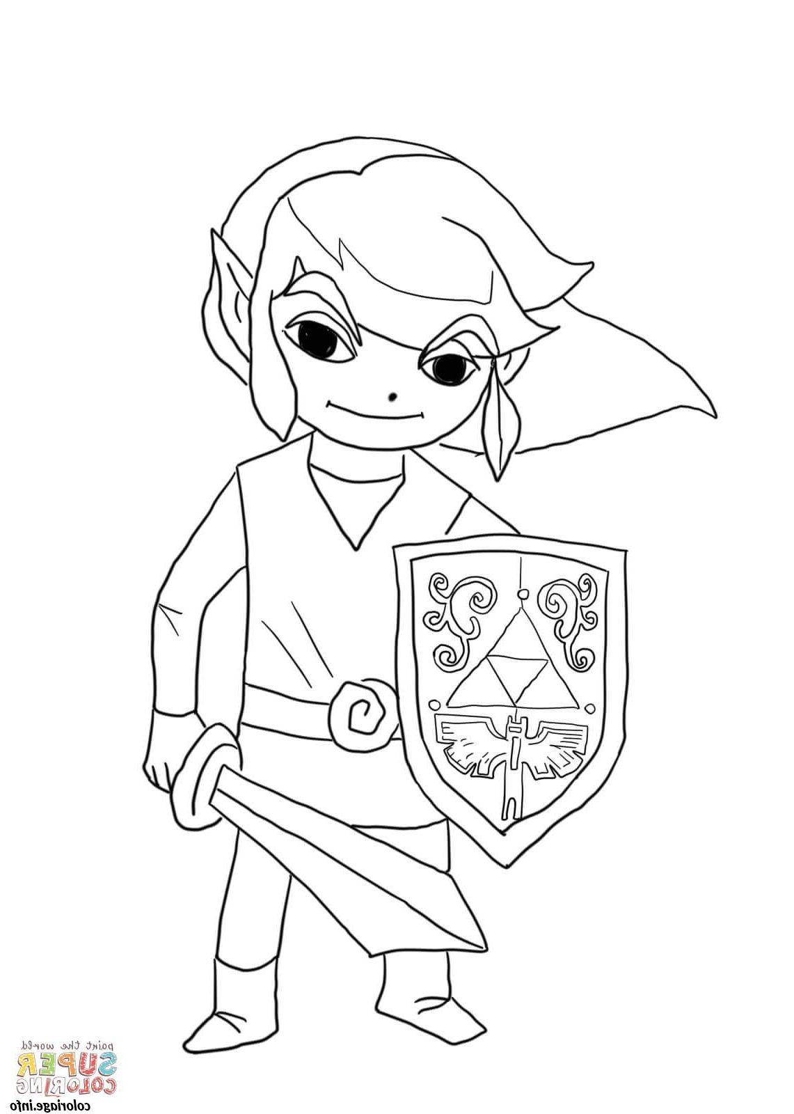dessin à imprimer: Coloriage A Imprimer Zelda Breath Of ...