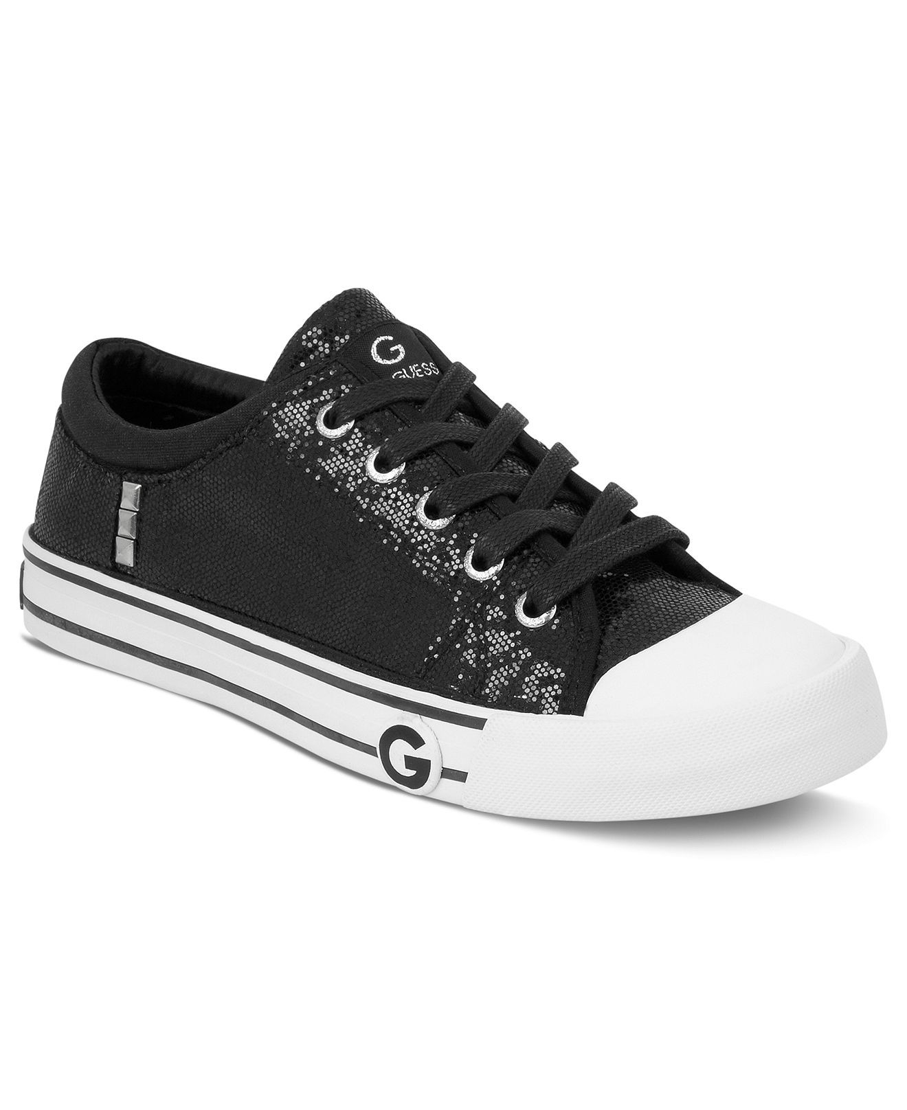 0b48e131d52 Oona Sneakers in Black Glitter - G by GUESS Fall Shoes, Women's Shoes, Shoe