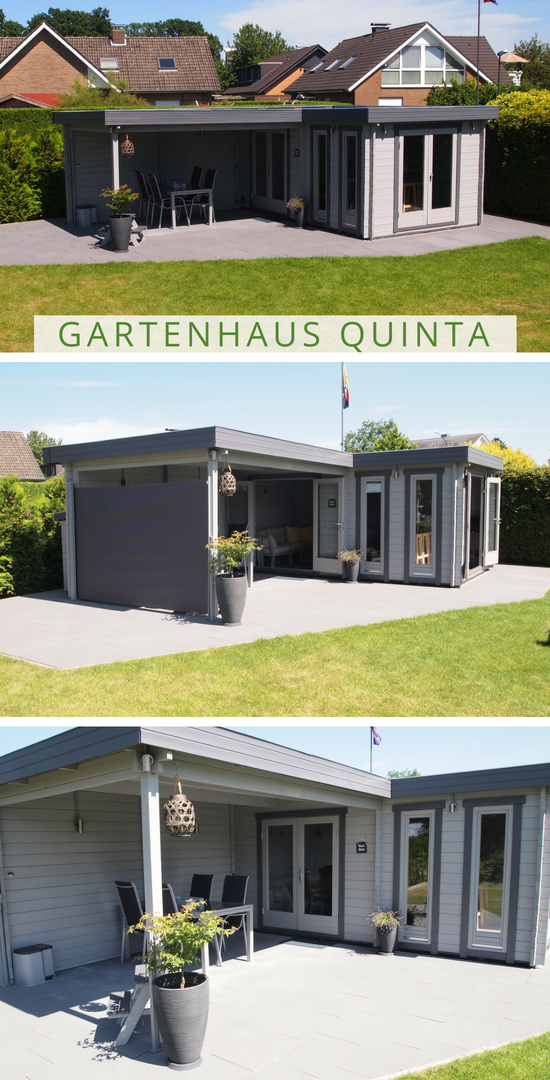 Gartenhaus Freisitz Das Gartenhaus Quinta weist einen